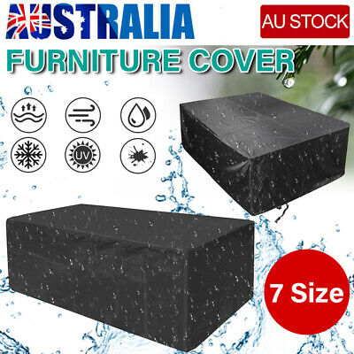 AU24.89 • Buy Waterproof Outdoor Furniture Cover Yard UV Garden Table Chair Shelter Protector