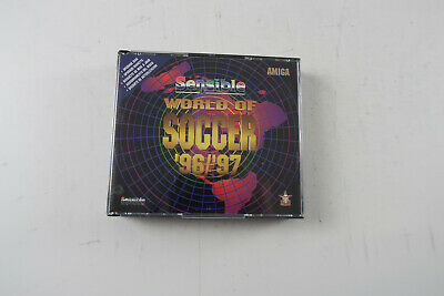 Sensible World Of Soccer 96/97 Upgrade Version Amiga Tested & Working • 42.49£