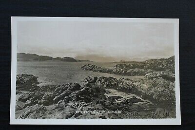 Postcard Skye From Kyle Of Lochalsh Village Ross-shire Scotland Unposted RP • 6£
