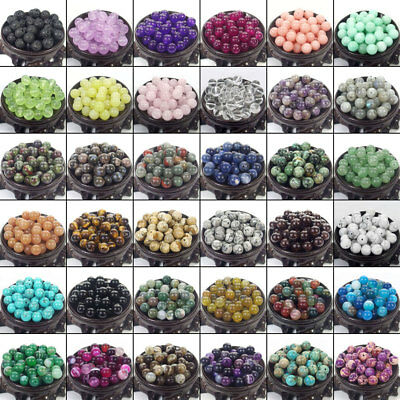 $ CDN1.31 • Buy Bulk Gemstones I Natural Spacer Stone Beads 4mm 6mm 8mm 10mm 12mm Jewelry Design