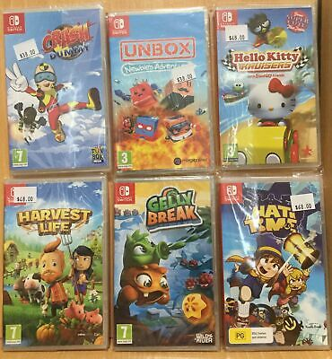 AU41.95 • Buy 09 18 Brand New Nintendo Switch Games - Plays On ALL Switch Consoles Worldwide