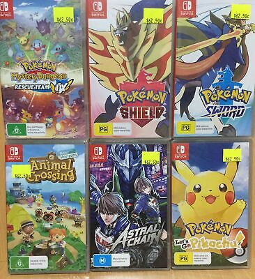 AU75 • Buy 11 18 Brand New Nintendo Switch Games - Plays On ALL Switch Consoles Worldwide