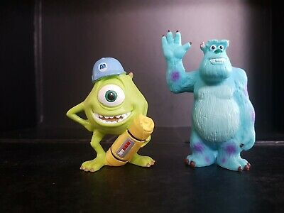 Bullyland Monsters Inc Mike And Sulley Disney Figure Collectable Toy  • 9.99£