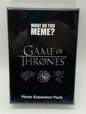 AU9.98 • Buy New/Sealed What Do You Meme? GAME OF THRONES Photo Expansion Pack Cards HBO