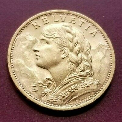 $458.88 • Buy 1930 B Swiss 20 Francs Gold Coin. Great Condition