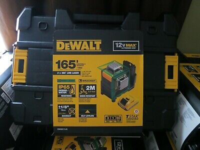 $459.99 • Buy Dewalt DW0811LG OPEN BOX 12V Max 2 X 360 Degree Self-Leveling Line Laser Green