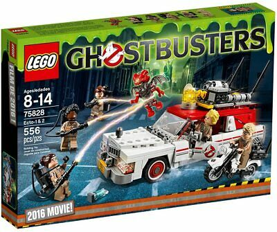 LEGO 75828 Ghostbusters Ecto-1 & 2  SEALED BRAND NEW. • 79.49£