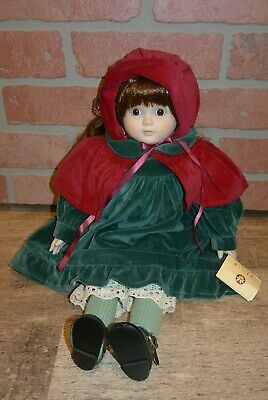 $ CDN70.64 • Buy Porcelain Victorian Musical Christmas Doll Jingle Bells Victoria's Collectables