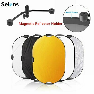 5in1 Collapsible Multi-Disc Light Reflector 1*1.5m + Magnetic Backdrop Holder • 83.55£