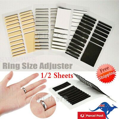 AU5.99 • Buy Tighteners Invisible Ring Size Adjuster Set Reducer Pad Resizing Jewelry Tool A+