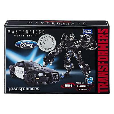 Transformers E2316 Masterpiece Decepticon Barricade Movie Series Action Figure • 39.99£