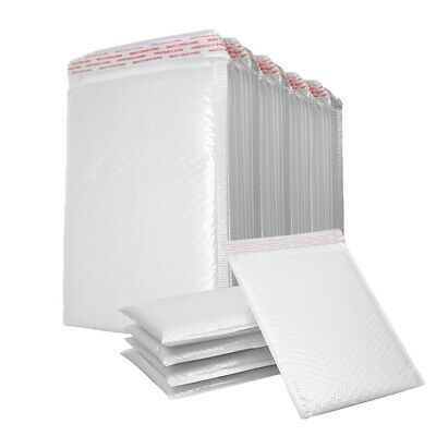 $4.99 • Buy 200PCs Poly Mailer Bubble Mailers 4 Layers Padded Envelopes Self Sealing