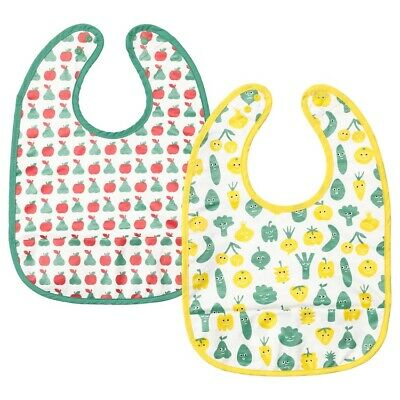 MATVRÅ Bib Red And Blue Print Age Up To 24 Months Soft Item • 8.50£