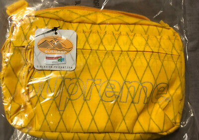 $ CDN220 • Buy Supreme Shoulder Bag Yellow FW18 2018 Brand New In Hand Limited Hype Sold Out