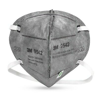 AU9.99 • Buy 1PC 3M 9542 Mask KN95 P2 Activated Carbon Particulate Respirator Oganic Vapor