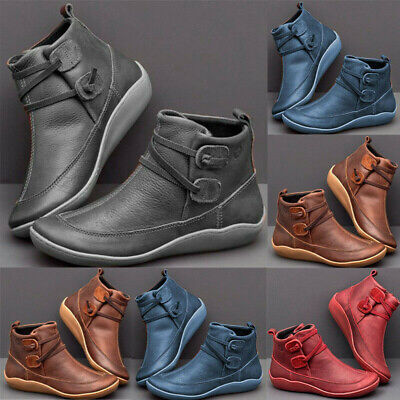 Women's Arch Support Boots Multi Colors Casual Wedge Platform Shoes Sneakers / • 11.99£
