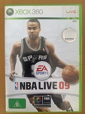 AU9.90 • Buy EA Sports NBA Live 09 - Microsoft Xbox 360 - Includes Manual