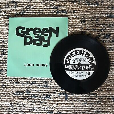 "Green Day 1000 Hours 7"" EP Berkeley Lookout Records #17 • 30£"