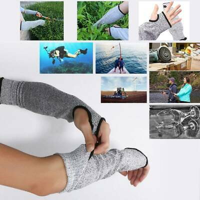 1 Pair HPPE Safety Protective Arm Sleeve Guard Cut Proof Cut-Resistant Gloves • 5.49£