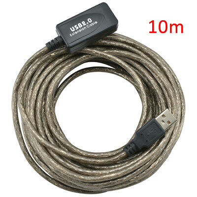 AU16.21 • Buy 10M USB Active Repeater Cable Extension Lead For Computer Plug Socket Extender