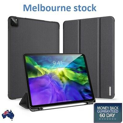 AU40 • Buy For IPad Pro 11  12.9  2020  Leather Smart Case Cover Pencil Holder