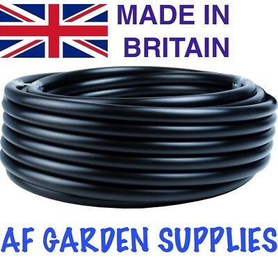 13mm Black LDPE Irrigation Pipe / Hydroponics, Supply Tube, Garden Watering  • 15.99£
