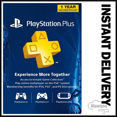 $ CDN44.91 • Buy Sony PlayStation Plus 1 Year / 12 Month Membership Subscription Card