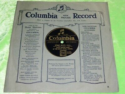 £7.20 • Buy SAVOY HAVANA BAND Dreamy Melody / ORPHEANS In A Tent -1924 UK Columbia 78rpm 204