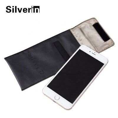 Cell Phone Anti Radiation Silver Pouch Portable Waterproof EMF Case NEW • 13.74£