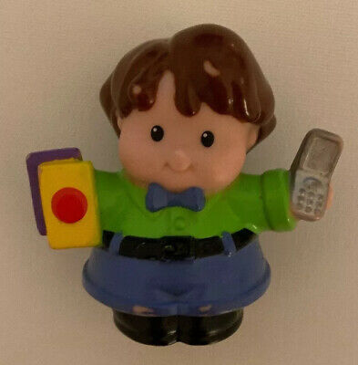 2006 Fisher Price LITTLE PEOPLE Lady Holding Phone/books. Toy. 99P • 0.99£