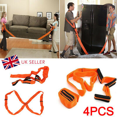 AU21.58 • Buy Heavy Furniture Appliances Lifting Shoulder Strap Moving Lift Aid Tool Dolly Kit