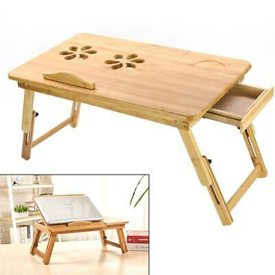 Portable Laptop Stand Lazy Lap Sofa Bed PC Notebook Adjustable Desk Table Tray • 13.99£