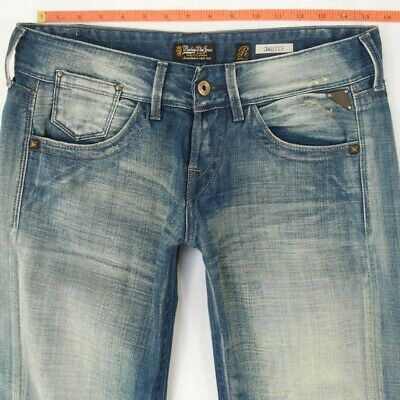 NEW Ladies Womens Replay WV580 JANICE Slouch Blue Jeans W29 L36 BNWT UK Size 10 • 49.99£