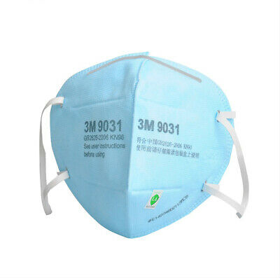 AU19.59 • Buy 5pcs 3M 9031 KN90 N90 P1 Anti-Bacterial Particulate Respirator Face Mask