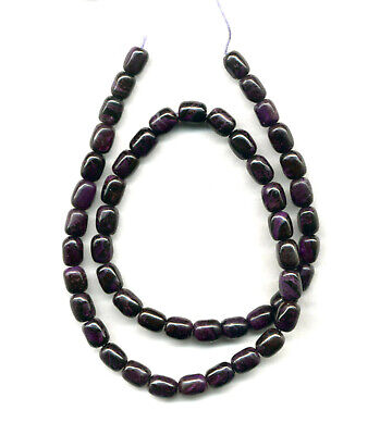$275 • Buy SOUTH AFRICAN SUGILITE BARREL BEADS - 18  Strand - 2213C