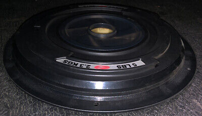 $49 • Buy ONE USED 5# Pre-Stretch Spiraflex Disc Plate For Bowflex Revolution Or XP