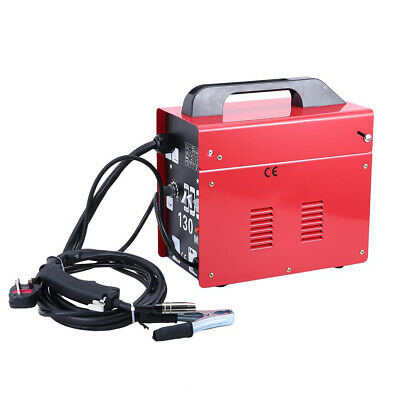 MIG-130 Portable Welder Gasless Welding Machine For Metal Welding With Mask Kit • 120.99£