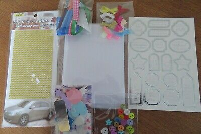 Children's Card Making Kit  6 X A6 Cards With Envelopes & Embellishments • 5£