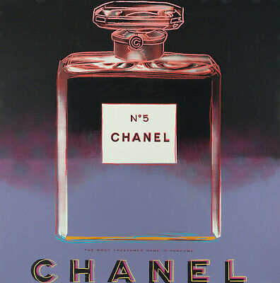 £6.95 • Buy Chanel No.5  (Ads) 1985 By Andy Warhol - Poster Wall Art