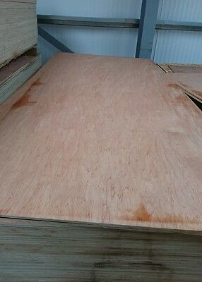 Plywood, Hardwood Faced Exterior Ply Sheets 8' X 4' X 9mm, Nice Boards • 22.50£