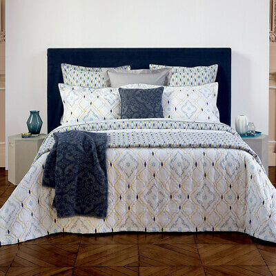 Yves Delorme | Maiolica Duvet Cover 200tc Egyptian Cotton 60% Off Rrp • 107.64£