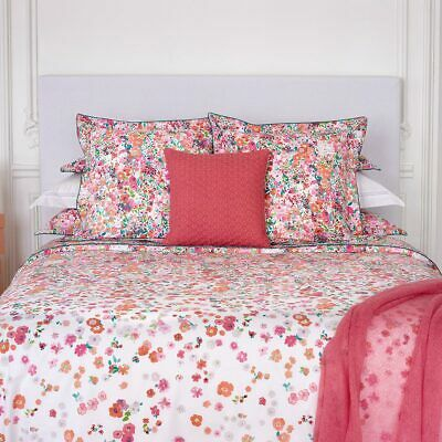 Yves Delorme | Milfiori Duvet Cover 100% Egyptian Cotton 200tc 60% Off Rrp  • 63£