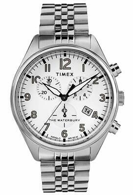 $68.50 • Buy Timex Men's Waterbury Chronograph Stainless Steel Bracelet Watch TW2R88500