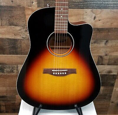 $649.99 • Buy Seagull 040308 S6 CW Spruce Sunburst Acoustic Guitar FREE Seagull Gigbag & SHIP