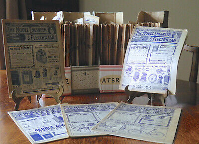 The Model Engineer & Electrician Magazines Multiple Vintage Issues For 1912 • 3.25£