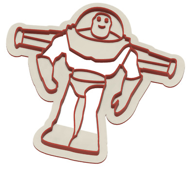 £3.50 • Buy Buzz Lightyear Cookie Cutter Cake Fondant 3D Printed