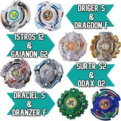 £16.99 • Buy Beyblade Burst Evolution Double Pack Of Rare Collectable Spinning Tops
