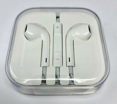 $ CDN10.68 • Buy New! Genuine Apple EarPods (MD827LL/A) With Remote And Microphone - White
