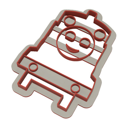 Thomas The Tank Engine Cookie Cutter Cake Fondant 3D Printed • 2.99£
