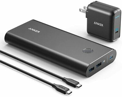AU259.99 • Buy Anker PowerCore+ 26800mAh PD 45W With 60W PD Charger Power Delivery Portable Cha